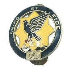 "US Army DUI Distinctive Unit Insignia Cavalry Unit ""The Black Hawks"""