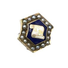 Gamma Theta Fraternity Pin
