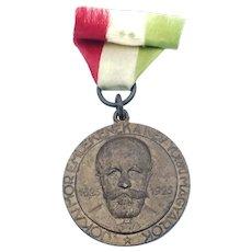 Hungarians of New York - Mor Jokai Centennial Medal 1825-1925