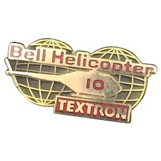 Bell Helicopter Textron - Employee Ten Years Service Pin