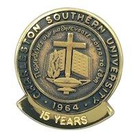 Charleston Southern University 15 Year Employee Service Pin