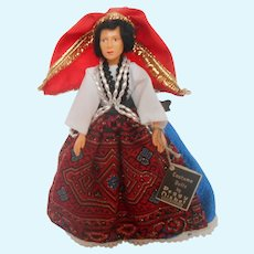 "Peggy Nisbet's ""Greece"" 8 inch (IL/007) International Ladies Doll"