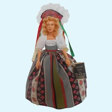 """Peggy Nisbet's """"Denmark"""" (IL/006) International Ladies Collection Doll"""