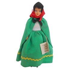 "Peggy Nisbet's ""Ireland"" (BR/302) Model Doll"