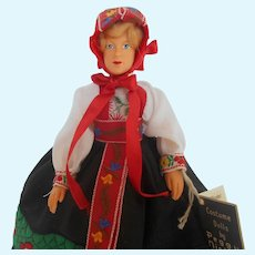 """Peggy Nisbet's """"Norway"""" (IL/004) International Ladies Collection Doll"""