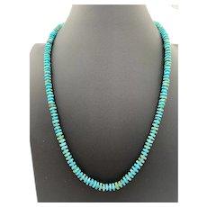 Gorgeous Carico Lake Turquoise Necklace