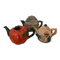 Lot of Vintage Tea Pots