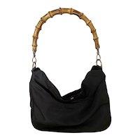Genuine Gucci Bamboo bucket hand bag