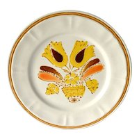Stoneware Plates, Americana Hearthside Bountiful, Set of 6