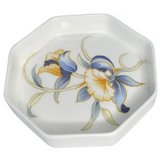 Aynsley Just Orchids Small Butter Dish 1980s