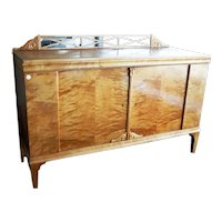 Swedish birch sideboard from the late 1800s
