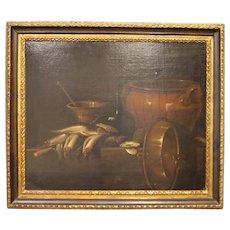Still life with school fish Giuseppe Recco (1634-1695) Italian late 1600 Baroque style