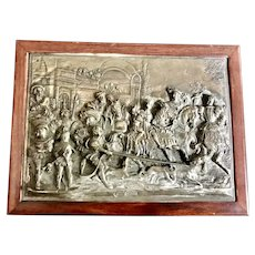Henryk Winograd .999 Sterling Silver Battle Of Sheffield Repousse Jewelry Box