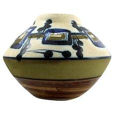 Mid Century Modern HARSA CERAMICS Israeli Art Pottery Vase