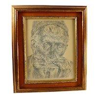 "JOSEPH HIRSCH ""Music"" LITHOGRAPH, Pencil Signed Original With Catalogue Raisonné"