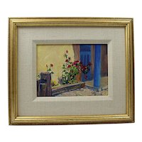 Framed Impressionist Oil Painting on Board by TIM DEIBLER OPA