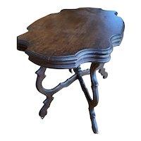 1860s Victorian Walnut Table