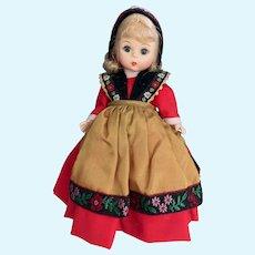 Sweden Madame Alexander Doll