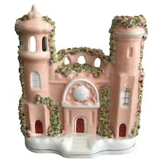 Antique English Staffordshire Castle