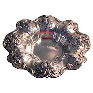 1949 Reed and Barton FRANCIS I Sterling Silver Footed Vegetable Bowl X569F