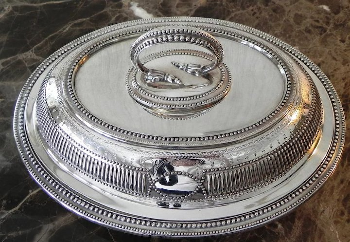 Antique Silver Plate Entree Dish ~ Henry Wilkinson ~ Sheffield & Antique Silver Plate Entree Dish ~ Henry Wilkinson ~ Sheffield : The ...