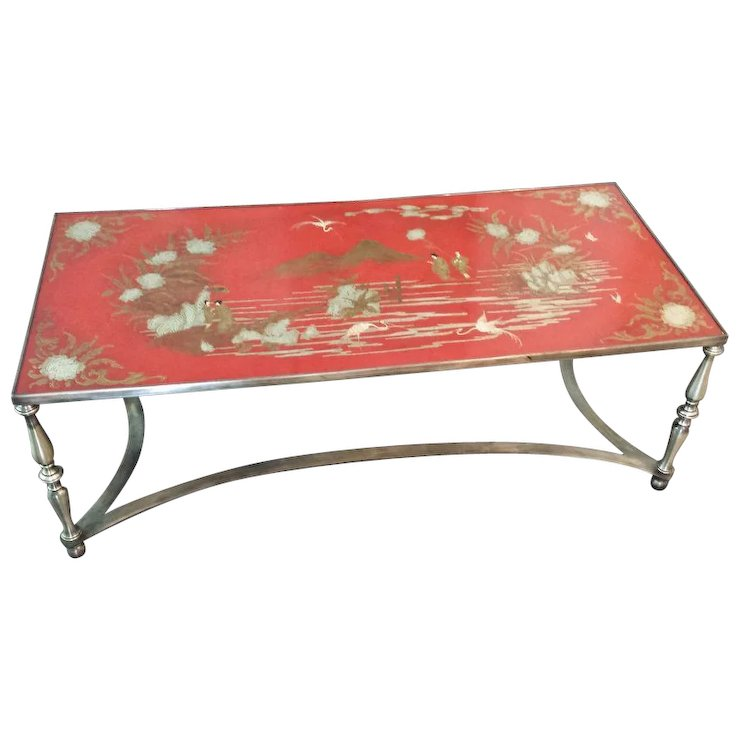 Vintage Trouvailles Chinoiserie Coffee / Cocktail Table