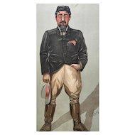 1902 Vanity Fair Print - Boer War / Game Hunter - General De Wet