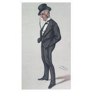 Original 1880 Vanity Fair Print ~ Board of Trade