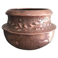 Arts and Crafts Copper Jardiniere