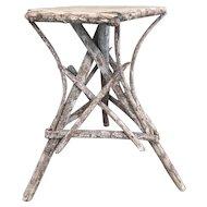Vintage Adirondack Style Rustic TWIG Table Stand