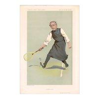 1912 Vanity Fair Tennis Print, Bishop of London