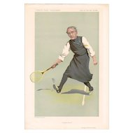 1912 Vanity Fair Tennis Print, Bishop of London