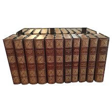 The Shakespeare Head Bronte 1931 ~ Leather Bound 11 Volume Set