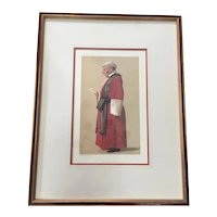 Antique Vanity Fair RED ROBED Judge Print ~The Hon. Sir Archibald Leven Smith