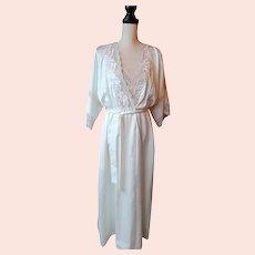 VINTAGE Miss Dior Satin Robe and Grown