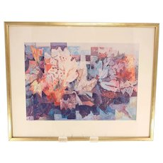 Ring Ragnar framed print 'Autumn Anthem'-signed in pencil and with artist's wax seal (Weight: 1.150kg)