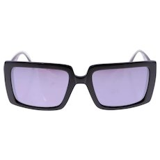 Cacharel CA 7020 001 ladies vintage square shaped sunglasses-Weight: 36g