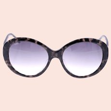 Tod's TO 177-D 05P ladies vintage sunglasses-brown tortoiseshell pattern frame-Weight 44g