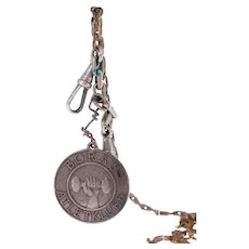 Vintage Swedish 'Borås Atletklubb' silver medal-engraved 'GAC'-Weight: 32.3g