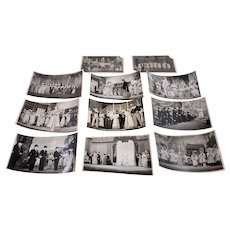 11 vintage black and white photographs from the stage and screen-1930s-1940s (Weight: 44g)