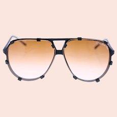 Eagle One European Optics vintage mens pilot-style sunglasses-lightweight frame-Weight: 27g