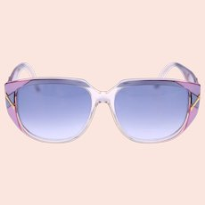 Luxottica 8605-O220 ladies vintage oversized sunglasses-Weight: 47g