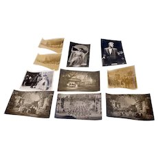 Vintage black and white photograph bundle from the 1930s to 1960s (Weight: 22g)