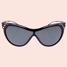 Thierry Mugler TM 10182 C1 ladies shield sunglasses-NEW (Weight: 186g)