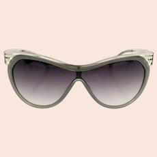 Thierry Mugler TM 10182 C2 ladies shield sunglasses-NEW (Weight: 196g)