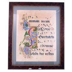 Vintage Latin musical mixed media picture with gold leaf and sequins (Weight: 2.85kg)