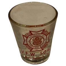VFW Woodstock Shot Glass