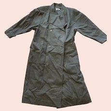 1960s Helga Wool Trench Coat