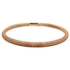 Crystals Swarovski Choker Women - Rose Gold Color Short Necklace - Evening Choker Necklace