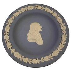 Wedgwood blue jasper ware plate.